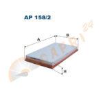Filtr powietrza AP 158/2 FILTRON