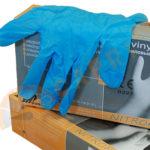 Rękawice NITROFLEXX niebieskie op. 100 sztuk